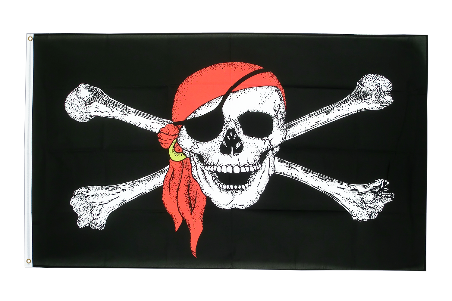 Large Flag Pirate with bandana - 5x8 ft - Royal-Flags