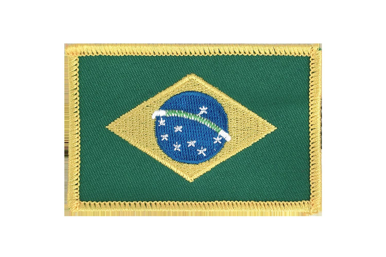 Écusson Brésil - Monsieur-des-Drapeaux