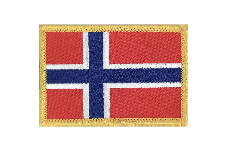 Aufnäher Europa mit Deutschland Fahne Flagge Aufbügler Patch 8 x 5 cm