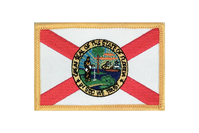 Florida Flag Badge Brodé Patch