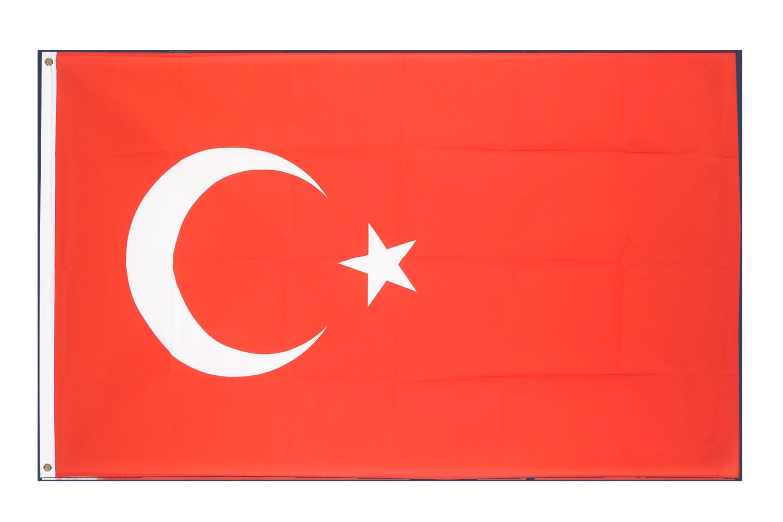 grand drapeau turquie 150 x 250 cm monsieur des drapeaux. Black Bedroom Furniture Sets. Home Design Ideas
