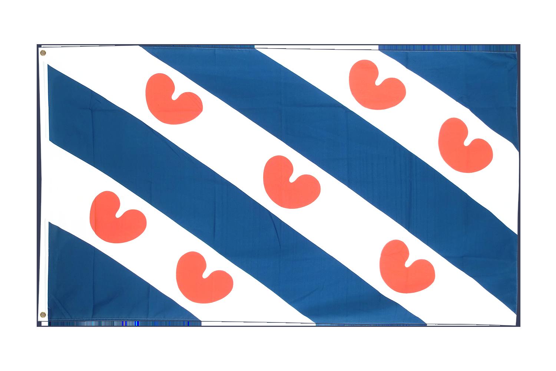 friesland flagge kaufen 90 x 150 cm flaggenplatz online shop. Black Bedroom Furniture Sets. Home Design Ideas
