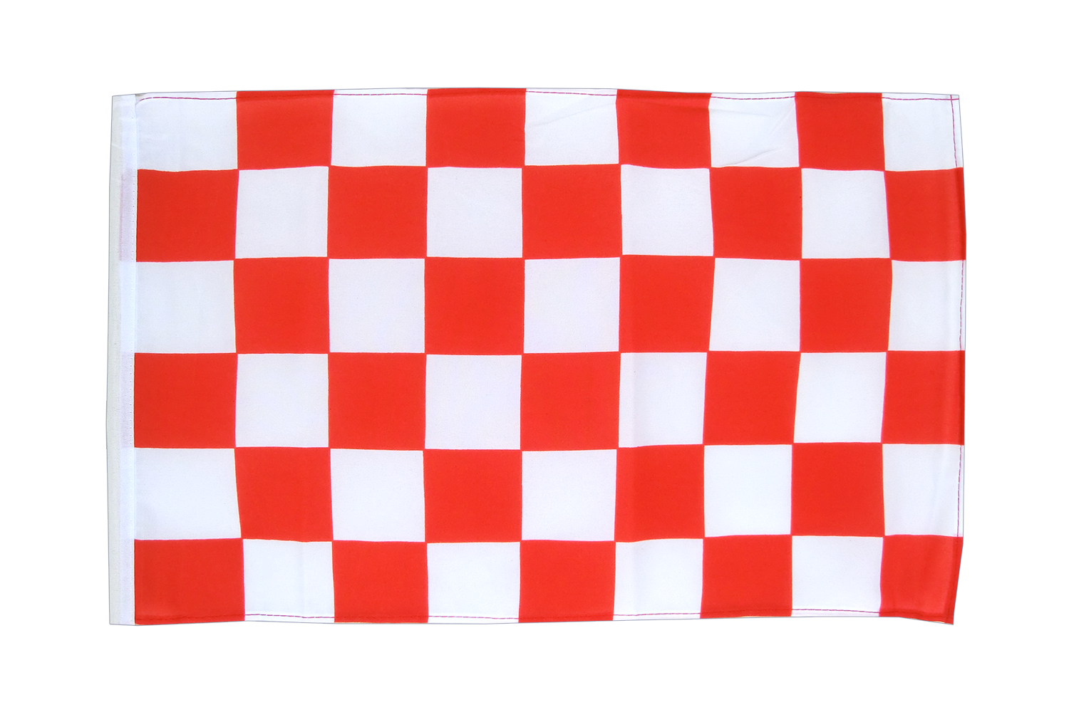 Checkered Red-White - 12x18 in Flag