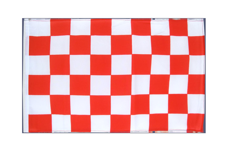 Garten Gartendeko Fahne Flagge Einfarbig Rot 30 x45 cm