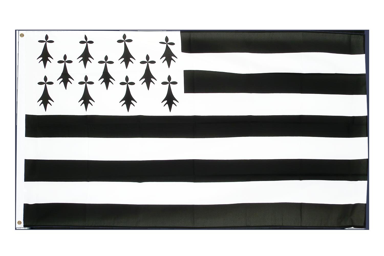 Drapeau breton pas cher 60 x 90 cm monsieur des drapeaux for Drapeau publicitaire exterieur pas cher