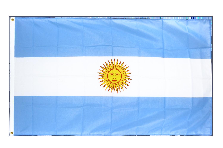 premium flag argentina - 3x5 ft cv