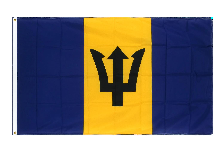 drapeau de qualit u00e9   barbade - 90 x 150 cm cv