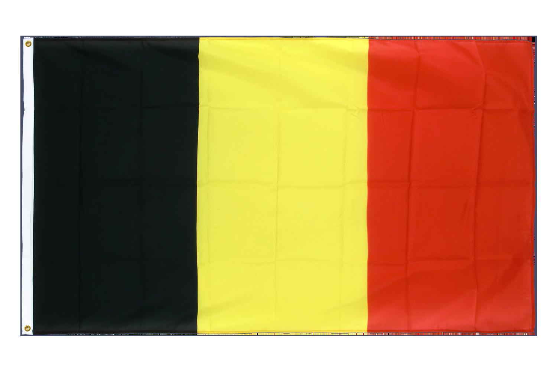 drapeau de qualit u00e9   belgique - 90 x 150 cm cv