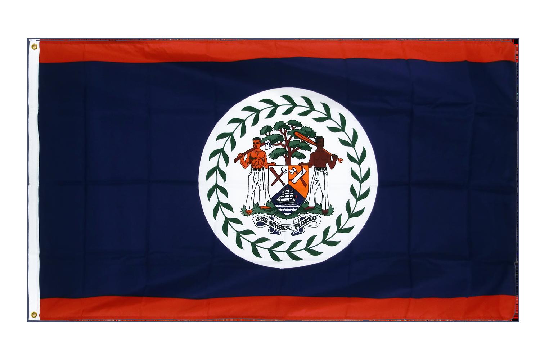 drapeau de qualit u00e9   belize - 90 x 150 cm cv