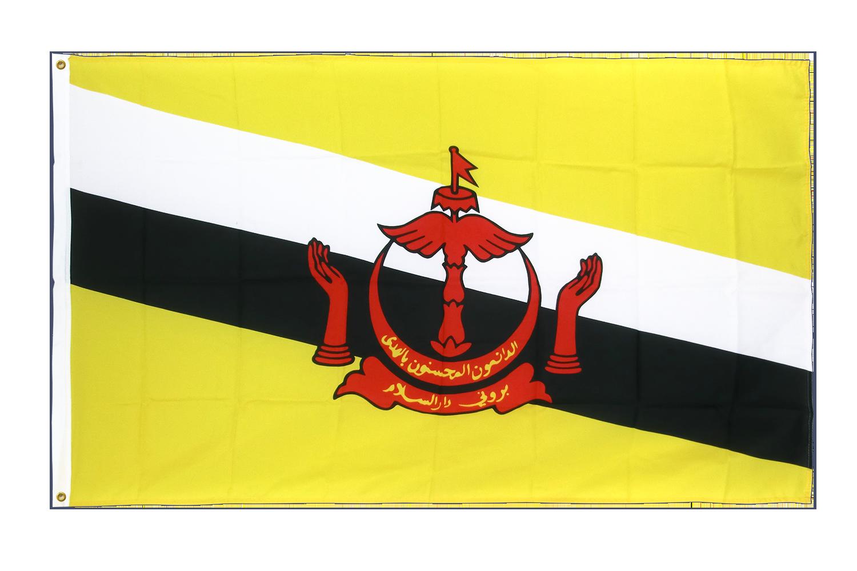 drapeau de qualit u00e9   brunei - 90 x 150 cm cv