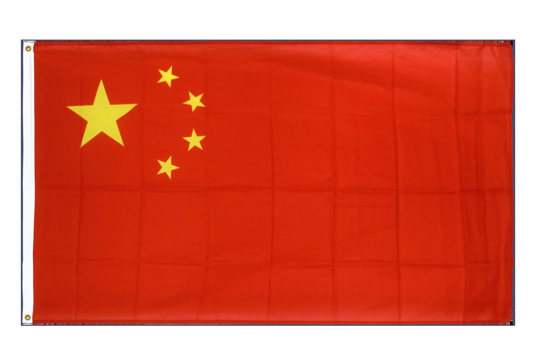 drapeau de qualit u00e9   chine - 90 x 150 cm cv
