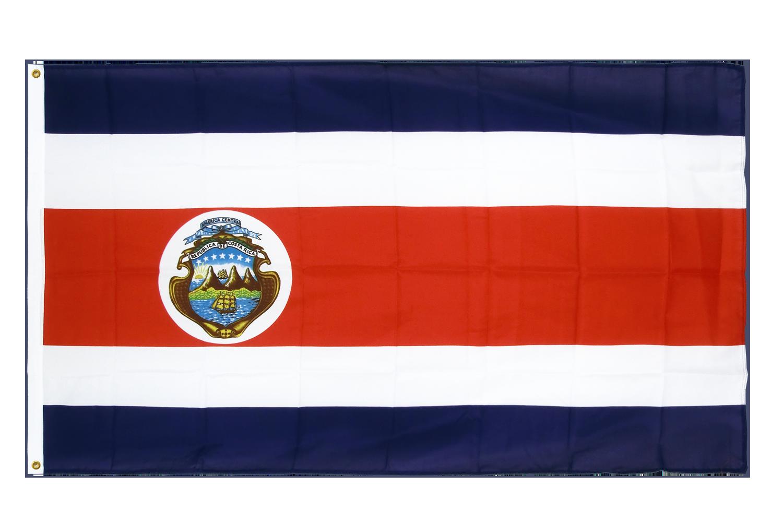 drapeau de qualit u00e9   costa rica - 90 x 150 cm cv