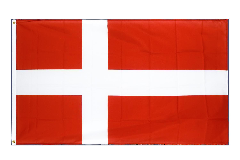 drapeau de qualit u00e9   danemark - 90 x 150 cm cv