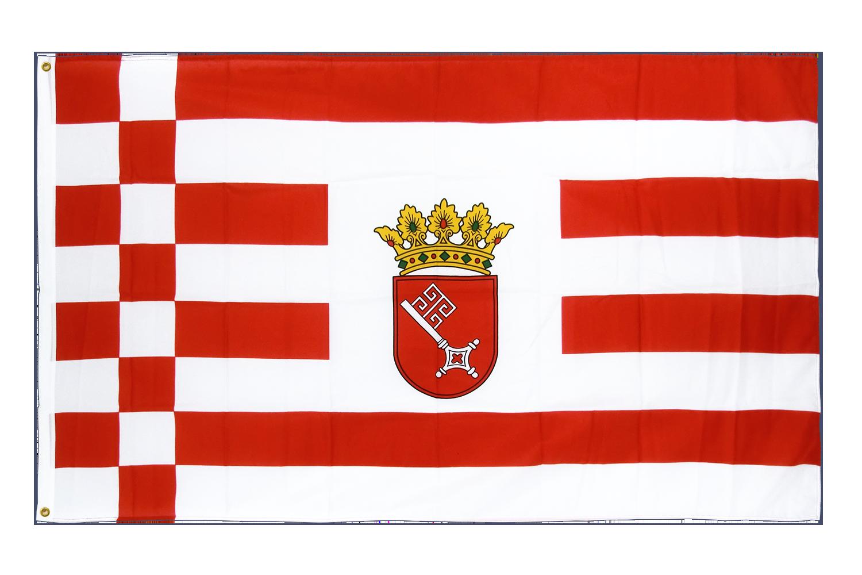 drapeau de qualit u00e9   br u00eame - 90 x 150 cm cv