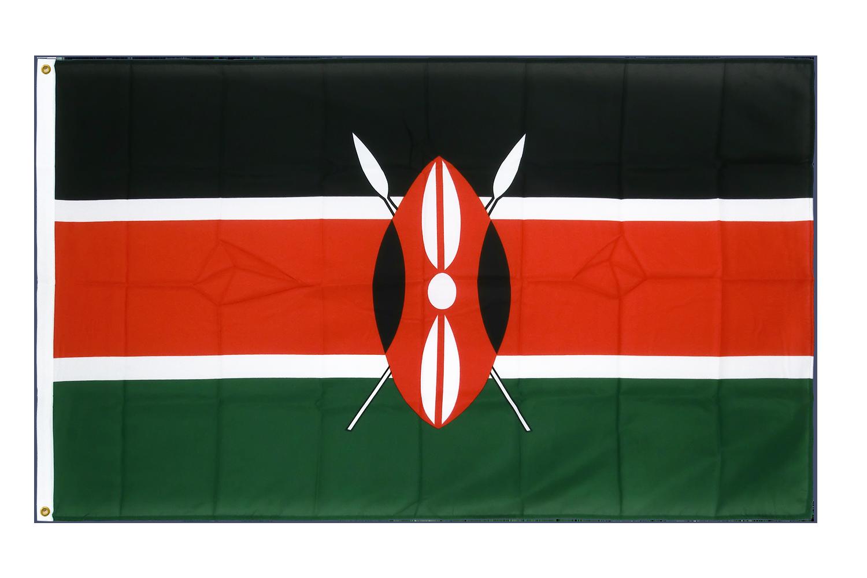drapeau de qualit u00e9   kenya - 90 x 150 cm cv