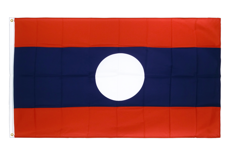 drapeau de qualit u00e9   laos - 90 x 150 cm cv
