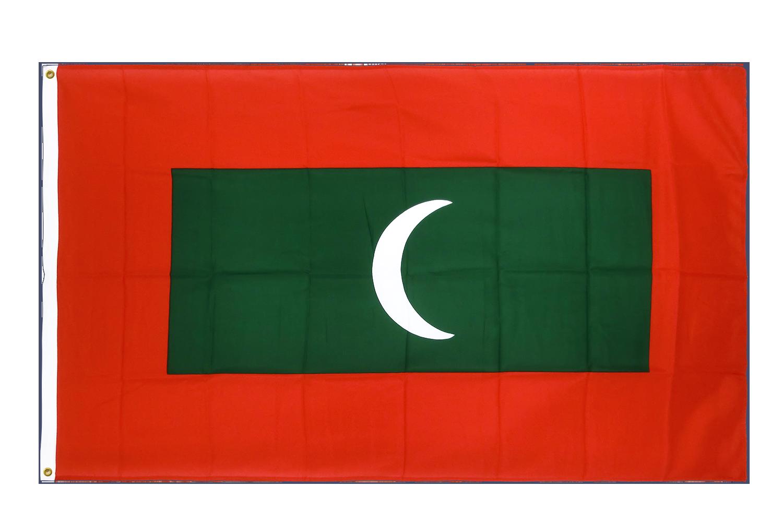 drapeau de qualit u00e9   maldives - 90 x 150 cm cv