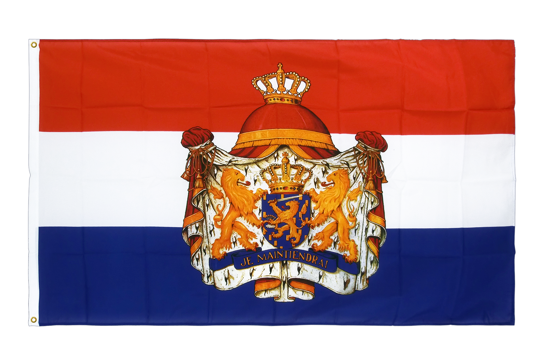 drapeau de qualit u00e9   pays-bas avec blason
