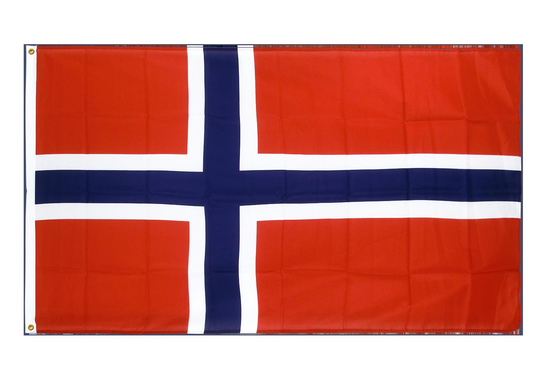 drapeau de qualit u00e9   norv u00e8ge - 90 x 150 cm cv