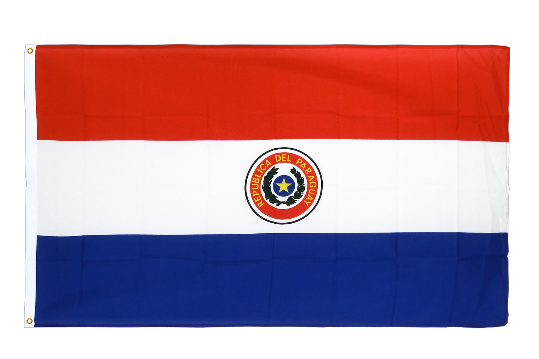 drapeau de qualit u00e9   paraguay - 90 x 150 cm cv