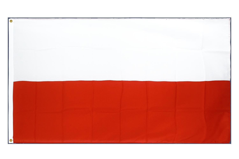 drapeau de qualit u00e9   pologne - 90 x 150 cm cv