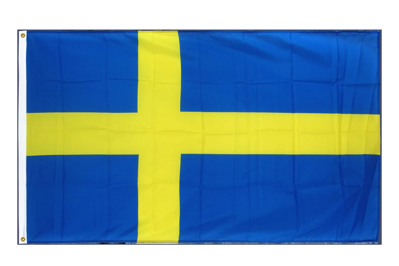 drapeau de qualit u00e9   su u00e8de - 90 x 150 cm cv