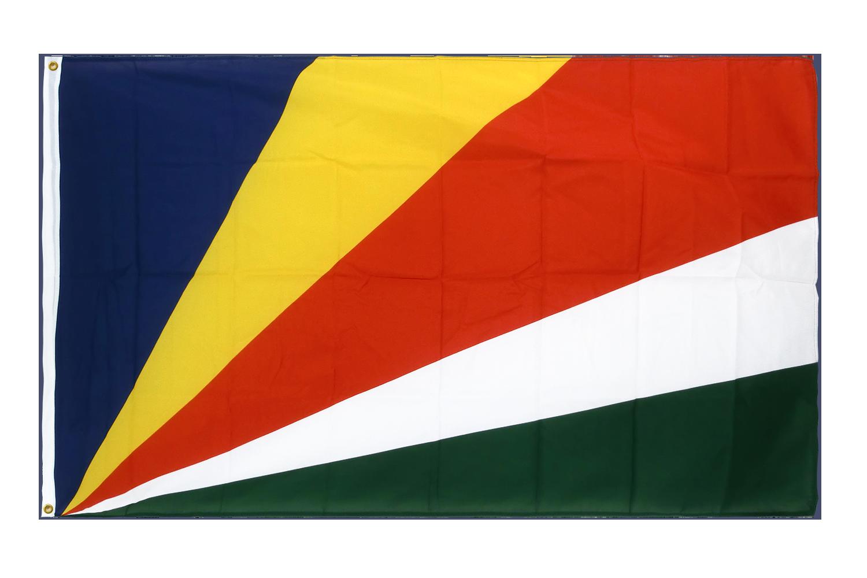 drapeau de qualit u00e9   seychelles - 90 x 150 cm cv