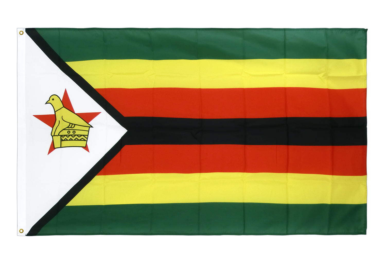 drapeau de qualit u00e9   zimbabwe - 90 x 150 cm cv