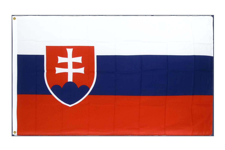 drapeau de qualit u00e9   slovaquie - 90 x 150 cm cv