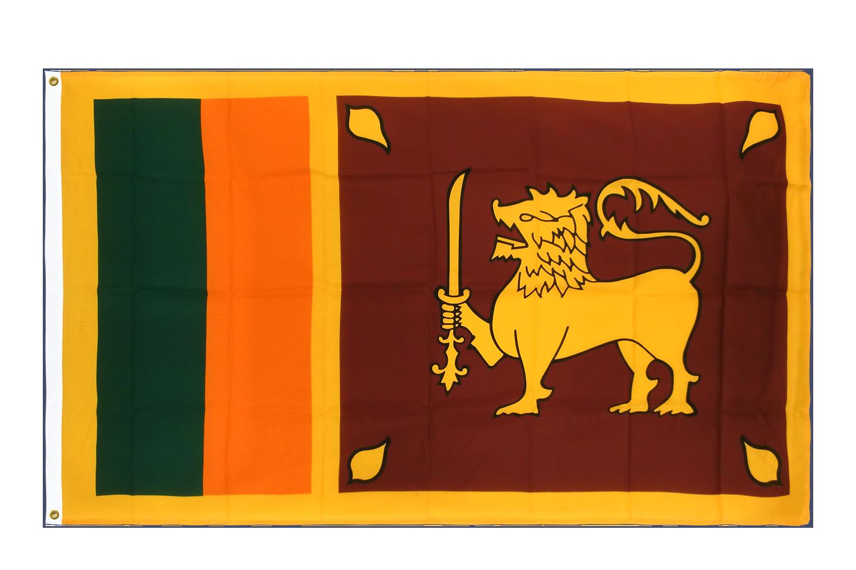 drapeau de qualit u00e9   sri lanka - 90 x 150 cm cv