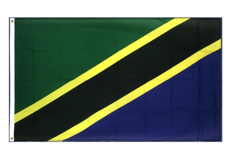 drapeau de qualit u00e9   tanzanie - 90 x 150 cm cv