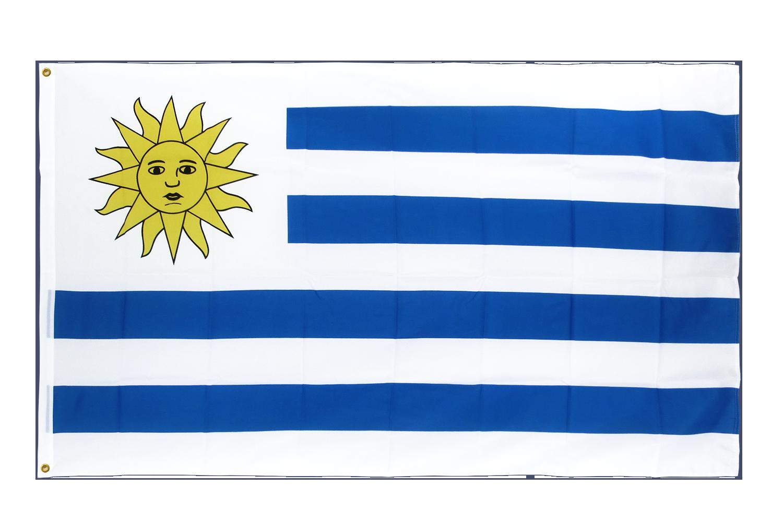 drapeau de qualit u00e9   uruguay - 90 x 150 cm cv