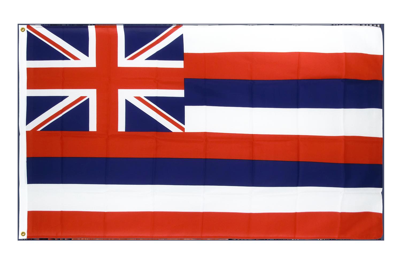 drapeau de qualit u00e9   hawaii - 90 x 150 cm cv