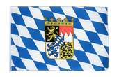 Small Bavaria with crest Flag - 12x18""