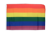 Rainbow - 12x18 in Flag