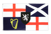 United Kingdom Lord Protector Banner und Command Flag 1658-59 Flag - 3x5 ft