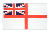 Naval Ensign of the White Squadron Flag - 3x5 ft
