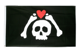 Pirate Micropose Flag - 3x5 ft