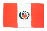 Cheap Peru Flag - 2x3 ft