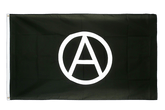 Large Anarchy Flag - 5x8 ft