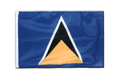 Sleeved Saint Lucia Flag PRO - 2x3 ft