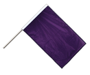 Purple Hand Waving Flag PRO - 2x3 ft