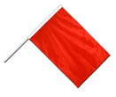 Stockflagge PRO Rot - 60 x 90 cm