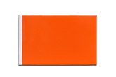 Satin Flagge Orange - 15 x 22 cm