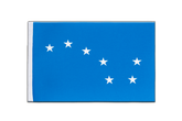 Satin Flagge Starry Plough - 15 x 22 cm