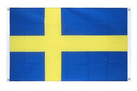 Sweden - Banner Flag 3x5 ft, landscape