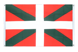 Basque country - Banner Flag 3x5 ft, landscape