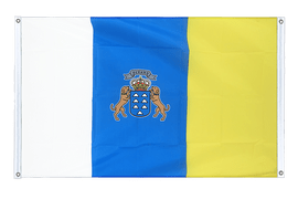 Canaries - Banner Flag 3x5 ft, landscape