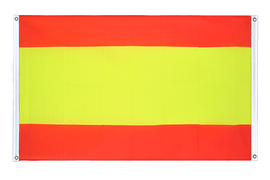 Spain without crest Grommet Banner Flag - 3x5 ft, landscape