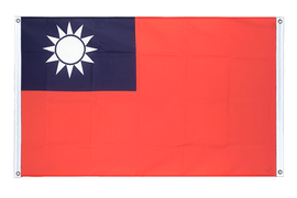 Taiwan - Banner Flag 3x5 ft, landscape